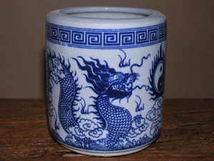 Large Bowl - Traditional Dragon Design